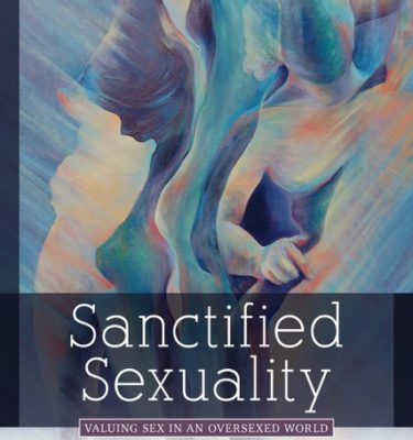 This is an image of the book cover for Sanctified Sexuality.